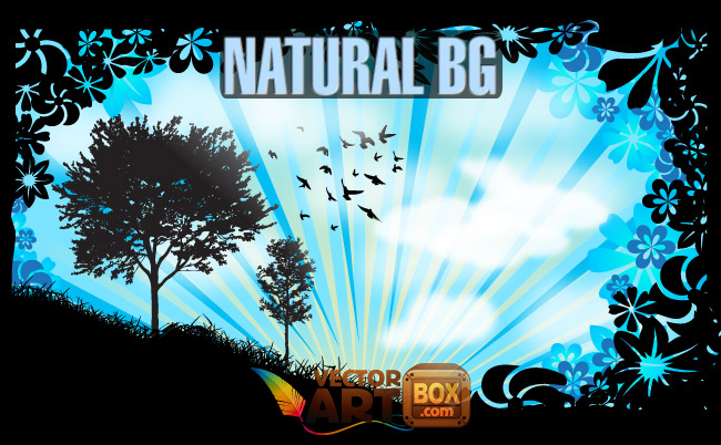 free vector Natural Background