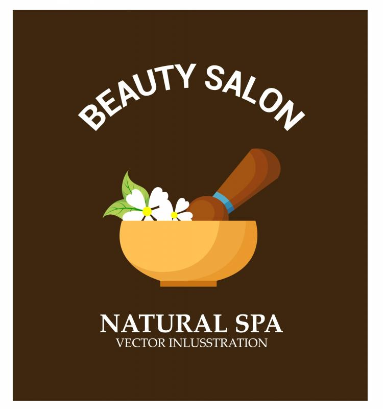 free vector Natural spa background