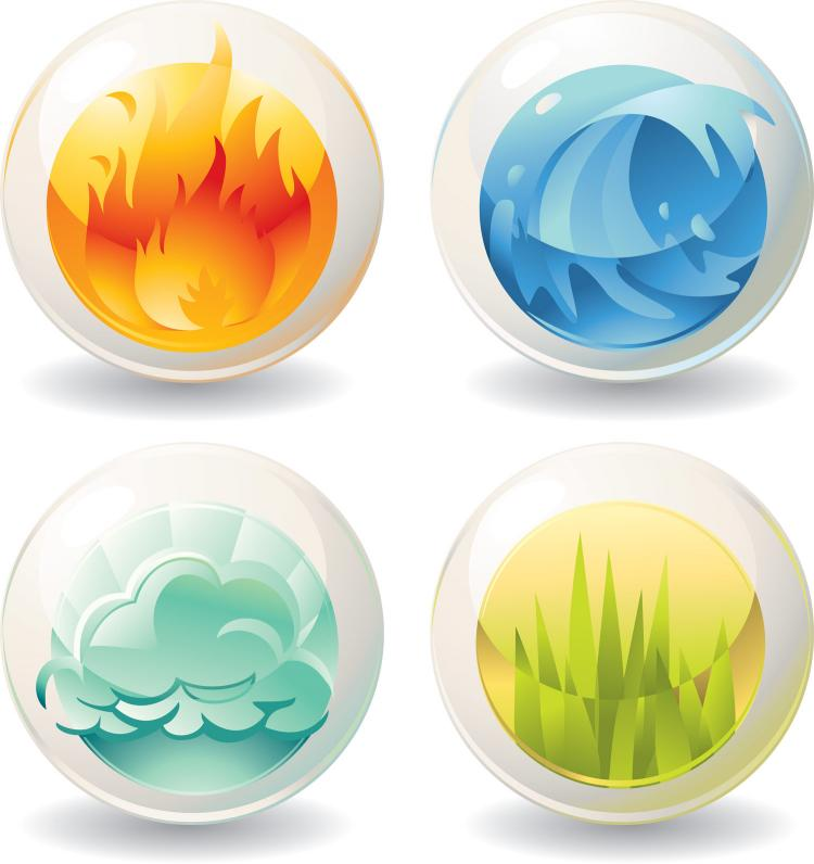 free vector Nature icons vector
