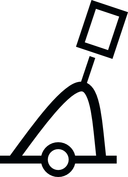 free vector Nautical International Conical Buoy clip art
