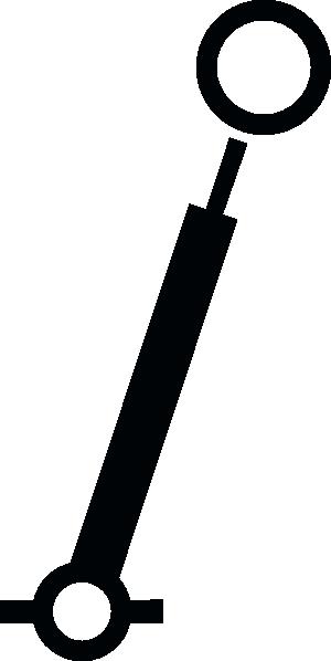 free vector Nautical Spar Buoy clip art
