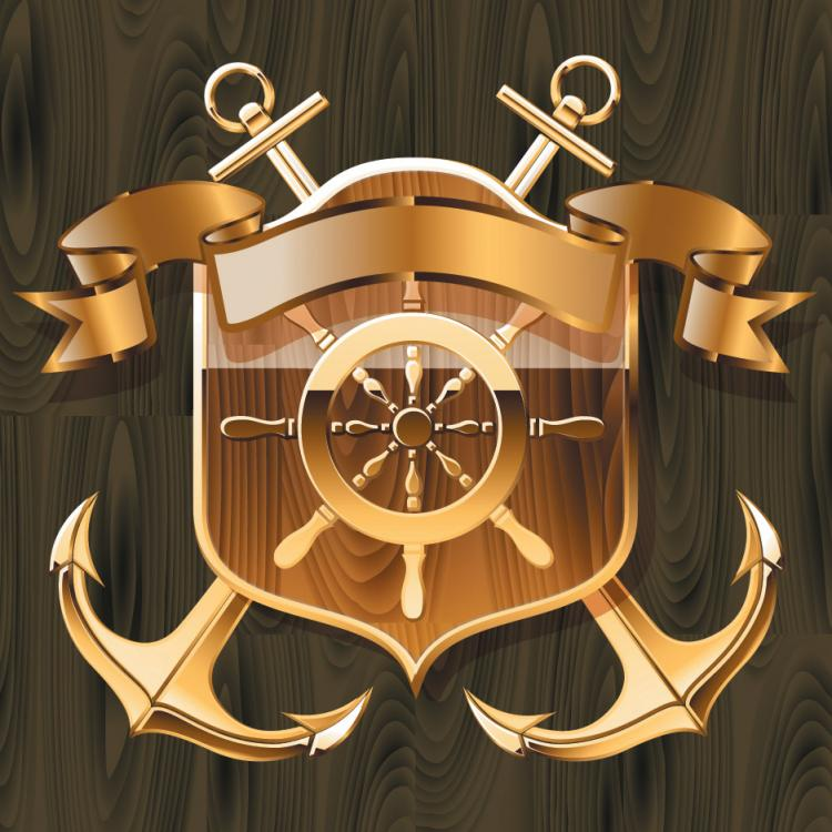 free vector Nautical theme graphics vector