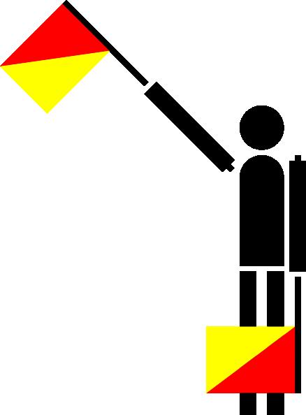 free vector Naval Semaphore Flag C clip art