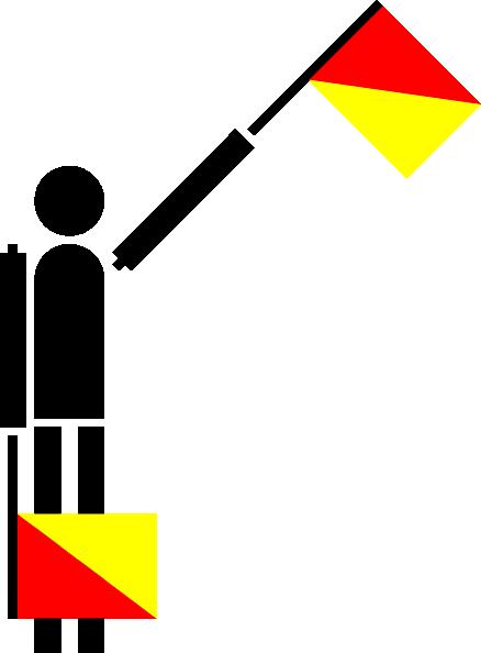 free vector Naval Semaphore Flag E clip art