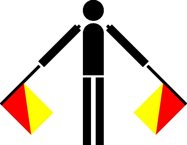free vector Naval Semaphore Flag N clip art