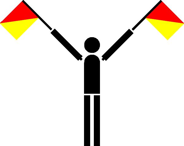 free vector Naval Semaphore Flag U clip art