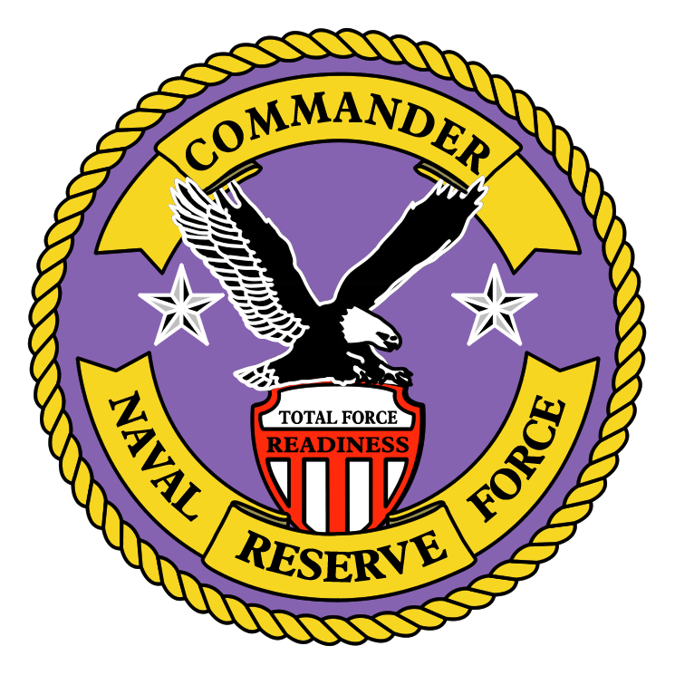 free vector Navy reserve force commander