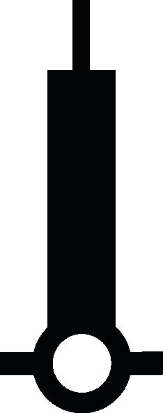 free vector Nchart Symbol Int Beacon clip art