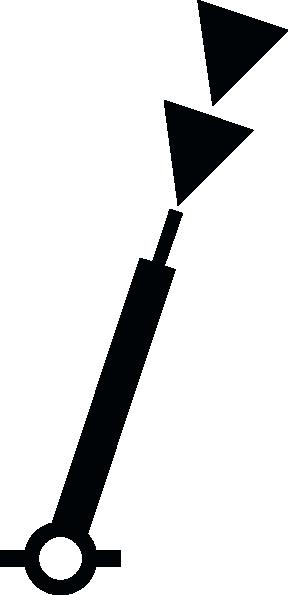 free vector Nchart Symbol Int Cardinal Mark Spar S clip art