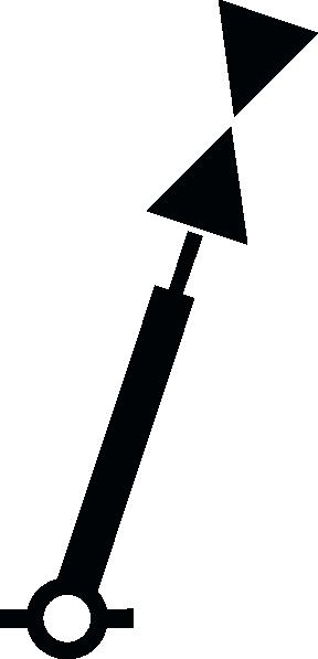 free vector Nchart Symbol Int Cardinal Mark Spar W clip art