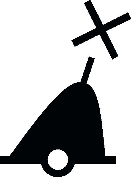 free vector Nchart Symbol Int Conicalbuoy Green Xshapetm clip art