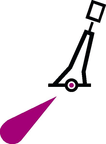 free vector Nchart Symbol Int Lighted Pillar Red Cylindricaltm clip art