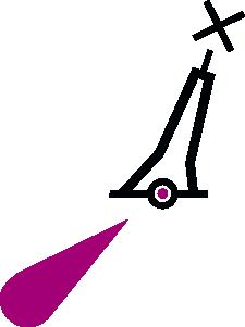 free vector Nchart Symbol Int Lighted Pillarbuoy Red Xshapetm clip art