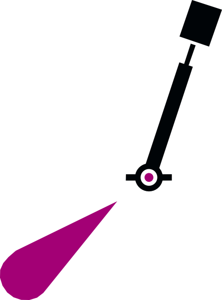 free vector Nchart Symbol Int Lighted Spar Green Cylindricaltm clip art