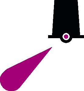 free vector Nchart Symbol Int Lighted Towerbeacon Green clip art