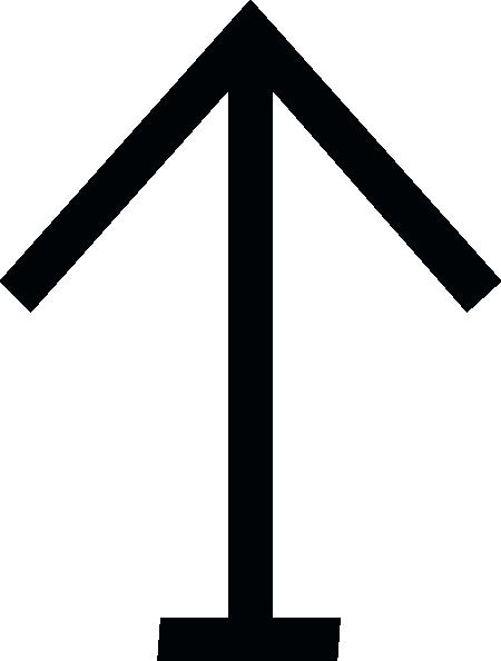 free vector Nchart Symbol Int Perch Starboard clip art