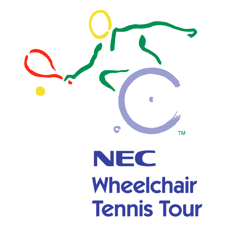 free vector Nec wheelchair tennis tour
