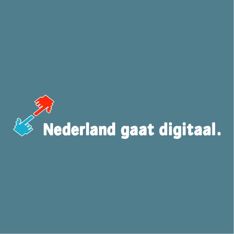 free vector Nederland gaat digitaal