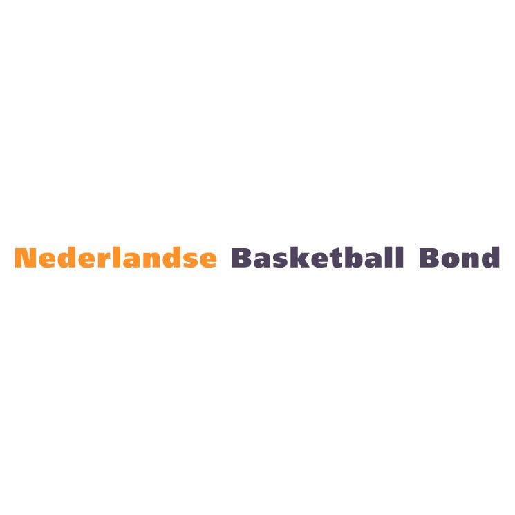 free vector Nederlandse basketball bond