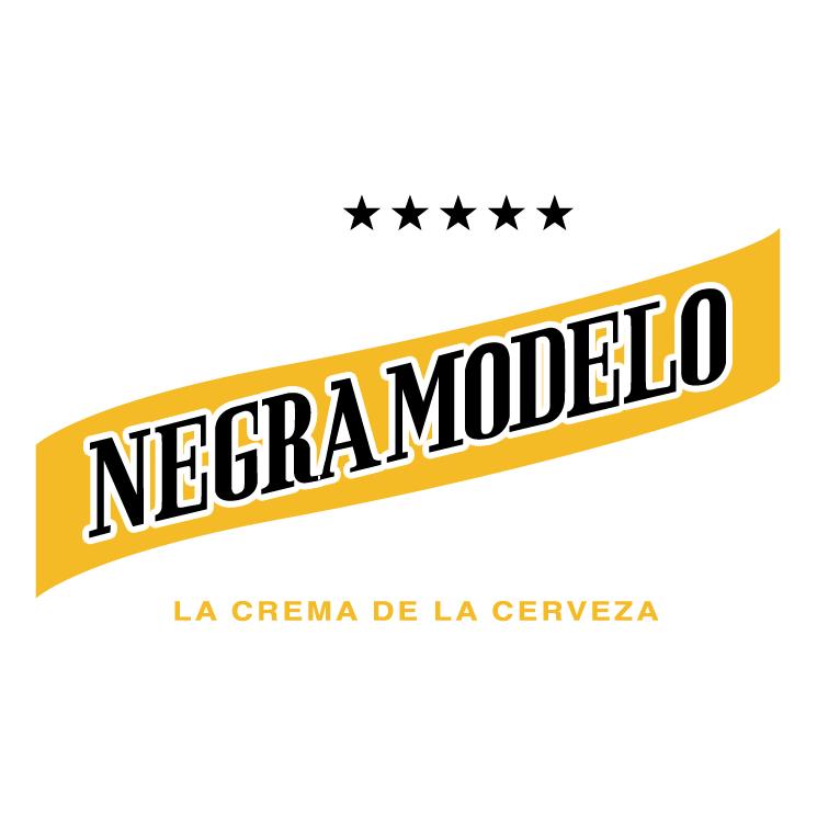 free vector Negra modelo