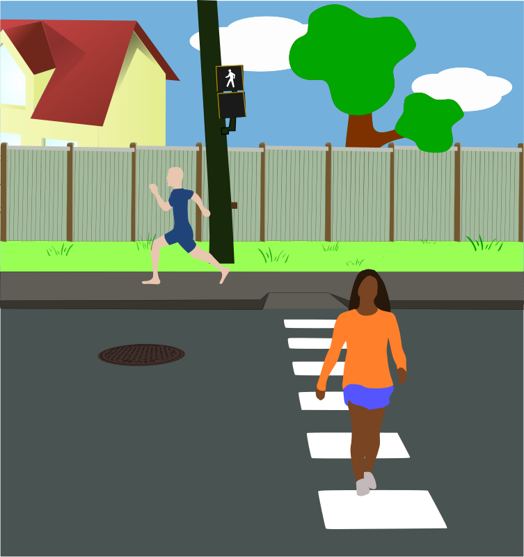 free vector Neighborhood Street