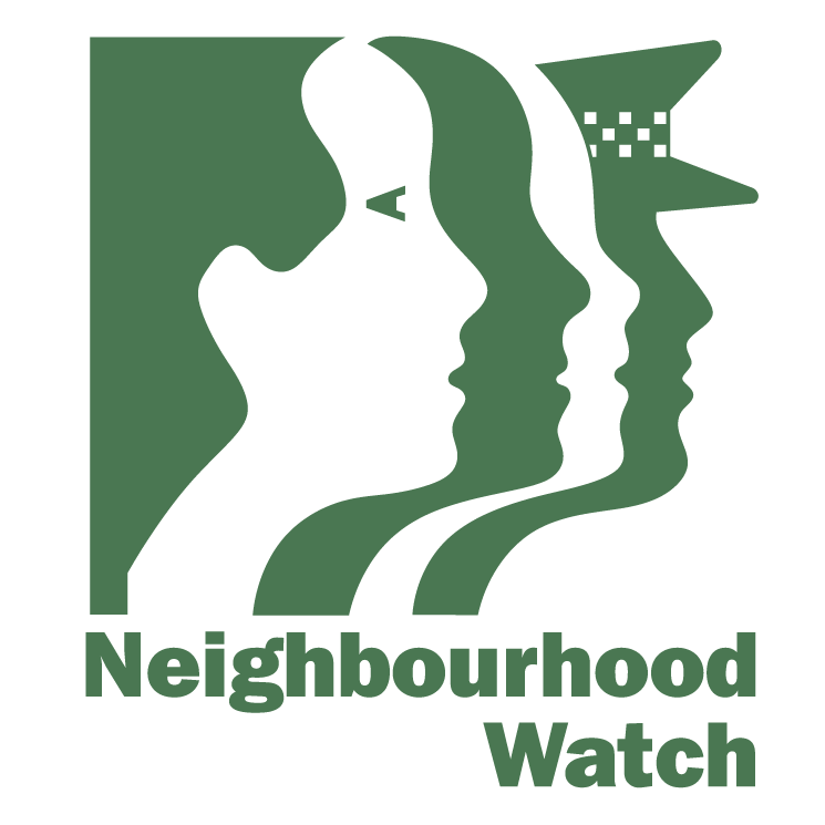 free vector Neighbourhood watch