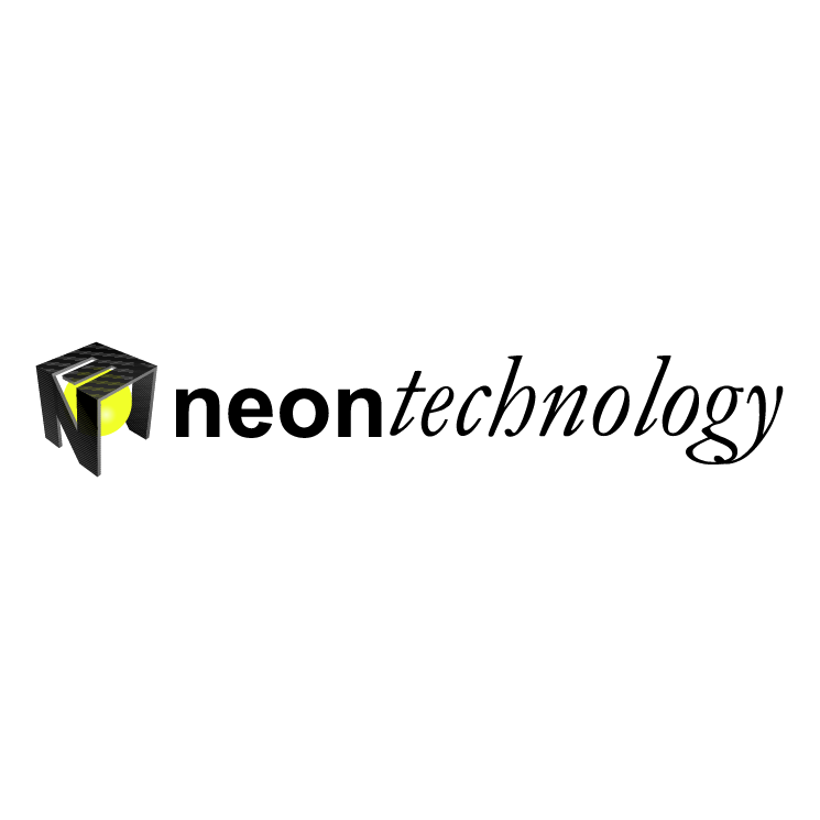 free vector Neon technology