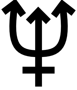 free vector Neptune Symbol clip art