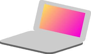 free vector Netbook clip art 117346