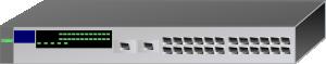 free vector Netowork Switch clip art