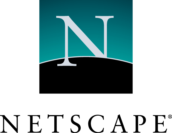 free vector Netscape logo