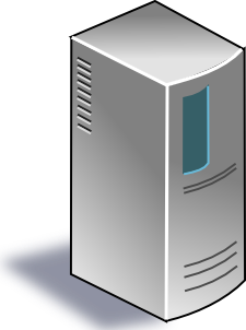 free vector Network Server clip art