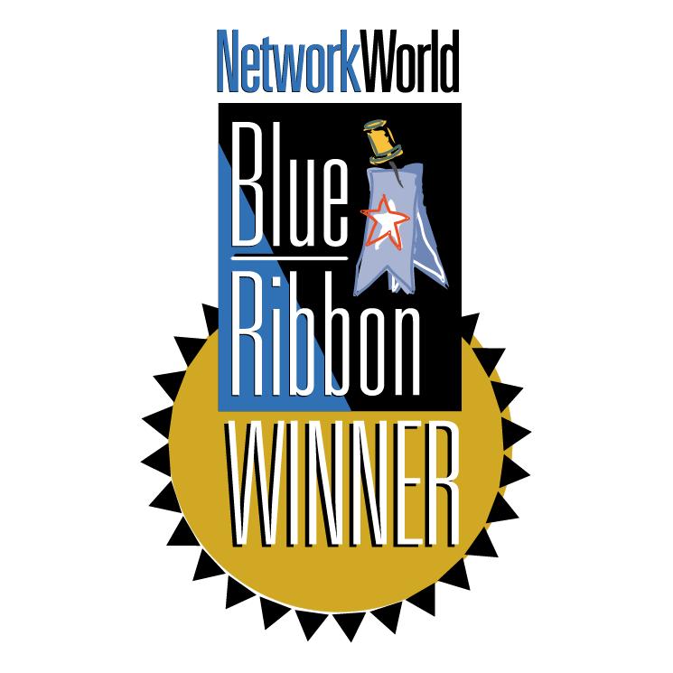 free vector Networkworld blue ribbon winner