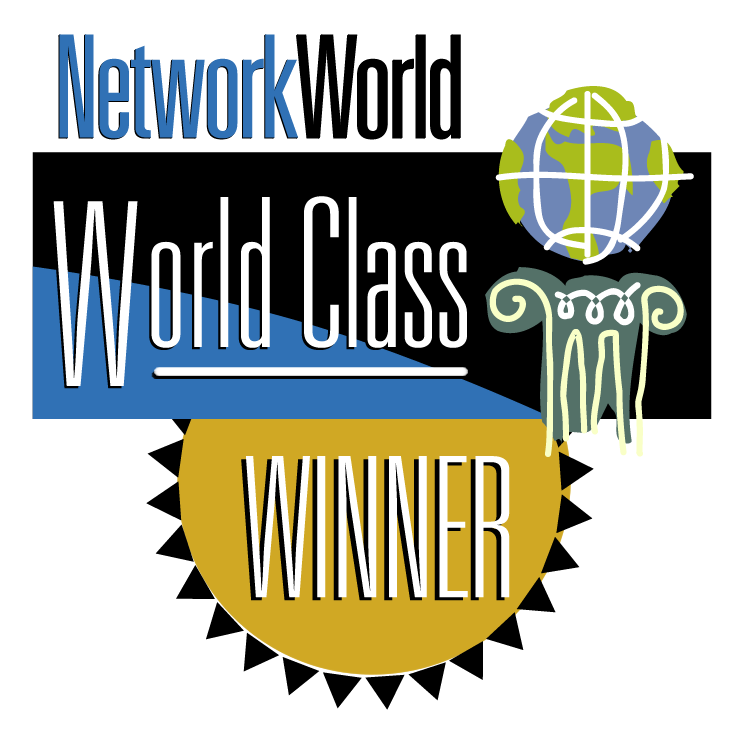 free vector Networkworld world class winner