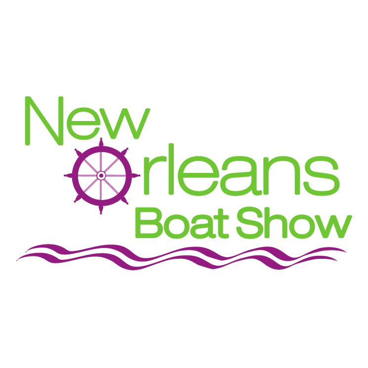 free vector New orleans boat show