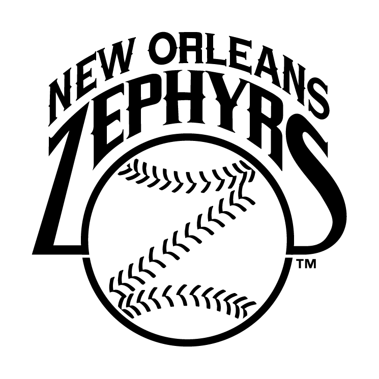 free vector New orleans zephyrs 2