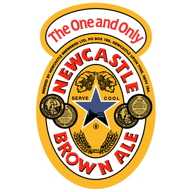 free vector Newcastle brown ale