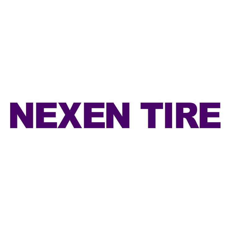 free vector Nexen tyre
