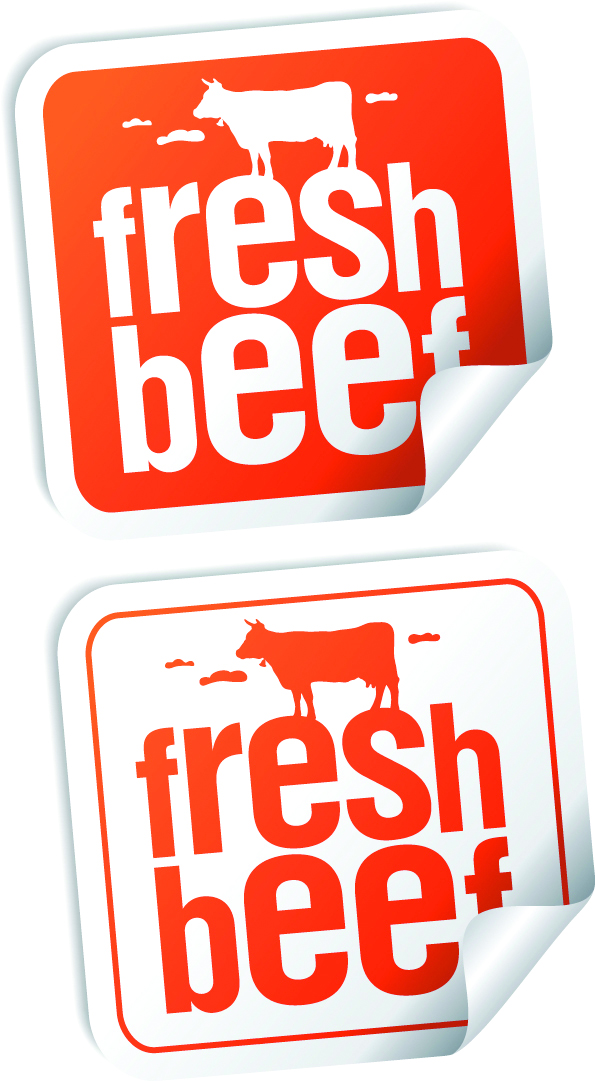 Nice sticker label (5838) Free EPS Download / 4 Vector