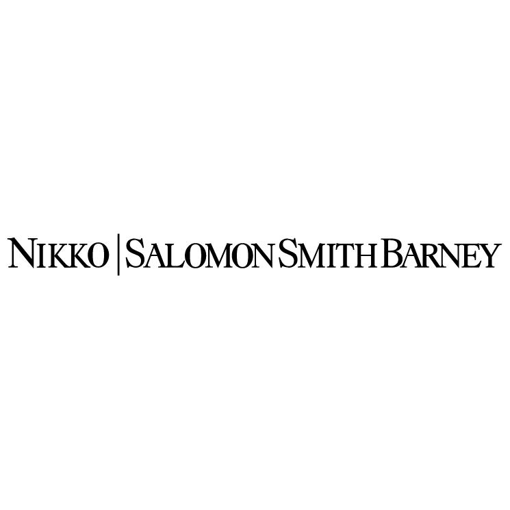 free vector Nikko salomon smith barney