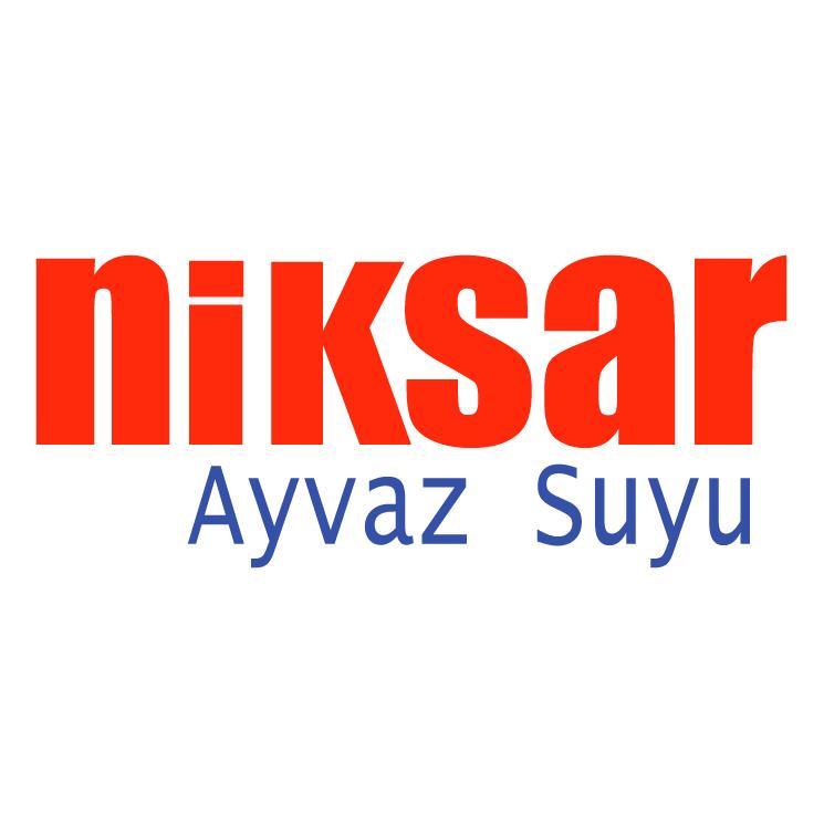 free vector Niksar ayvaz suyu