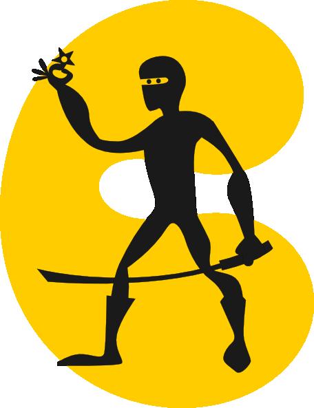free vector Ninja clip art