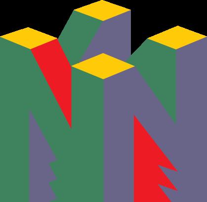 free vector Nintendo 64 logo2