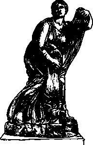 free vector Niobe Statue clip art