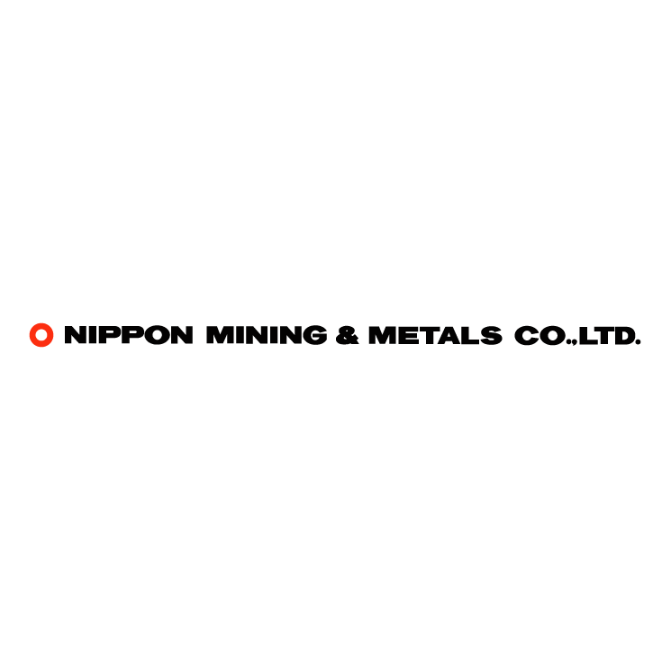 free vector Nippon mining metals