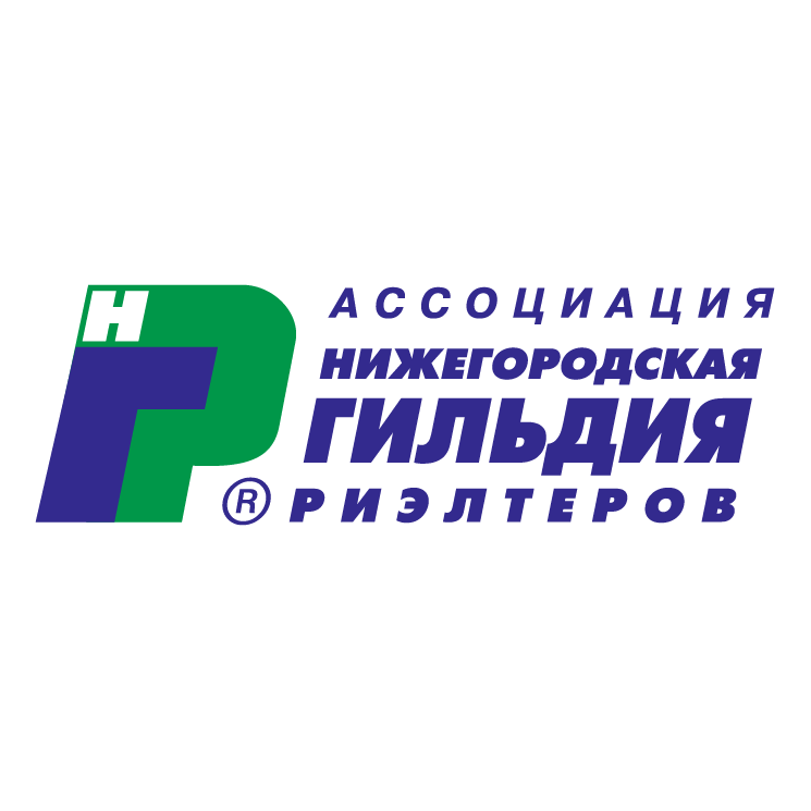 free vector Nizhegorodskaya gildiya rielterov 0