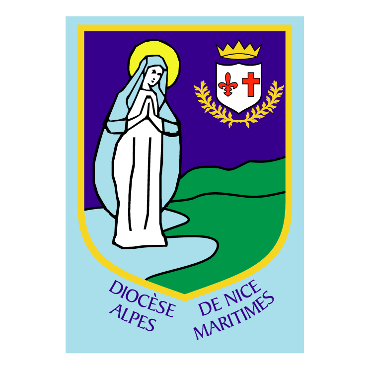 free vector Nizza diocese