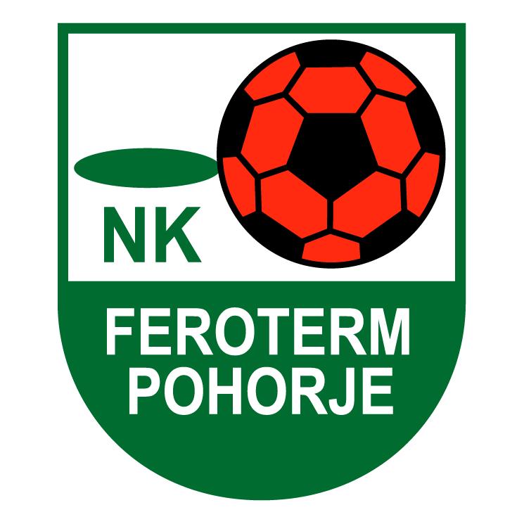 free vector Nk feroterm pohorje
