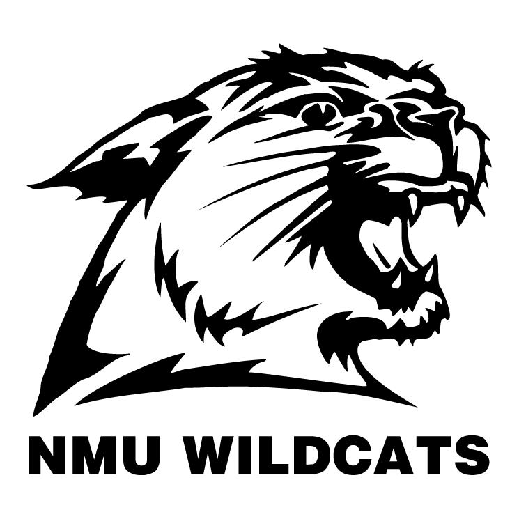 free vector Nmu wildcats