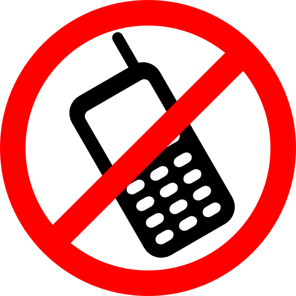 no cell phones allowed clip art free vector 4vector rh 4vector com Project Clip Art Clip Art